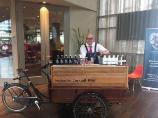 Cocktail-Bike beim Firmen Event